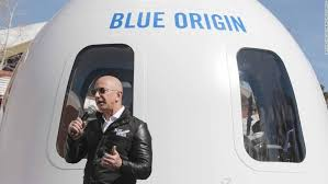 Jeff Bezos and his brother to fly to SPACE next month